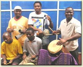 Ewe Drums